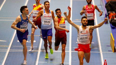 Saúl Ordóñez consigue un descarado y sorprendente bronce en los 800 del Mundial
