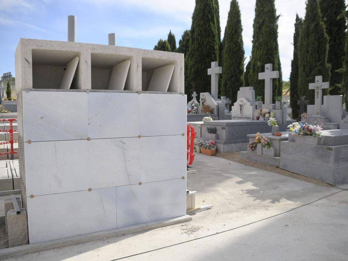 Foto: Columbario que construye el Ayuntamiento de Boadilla para albergar los restos de niños no nacidos y neonatos de hasta tres meses. (EC)