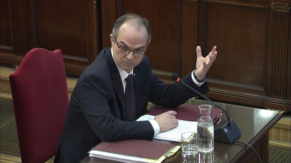 Foto: El 'exconseller' de Presidencia Jordi Turull en el juicio del 'procés. (EFE)'