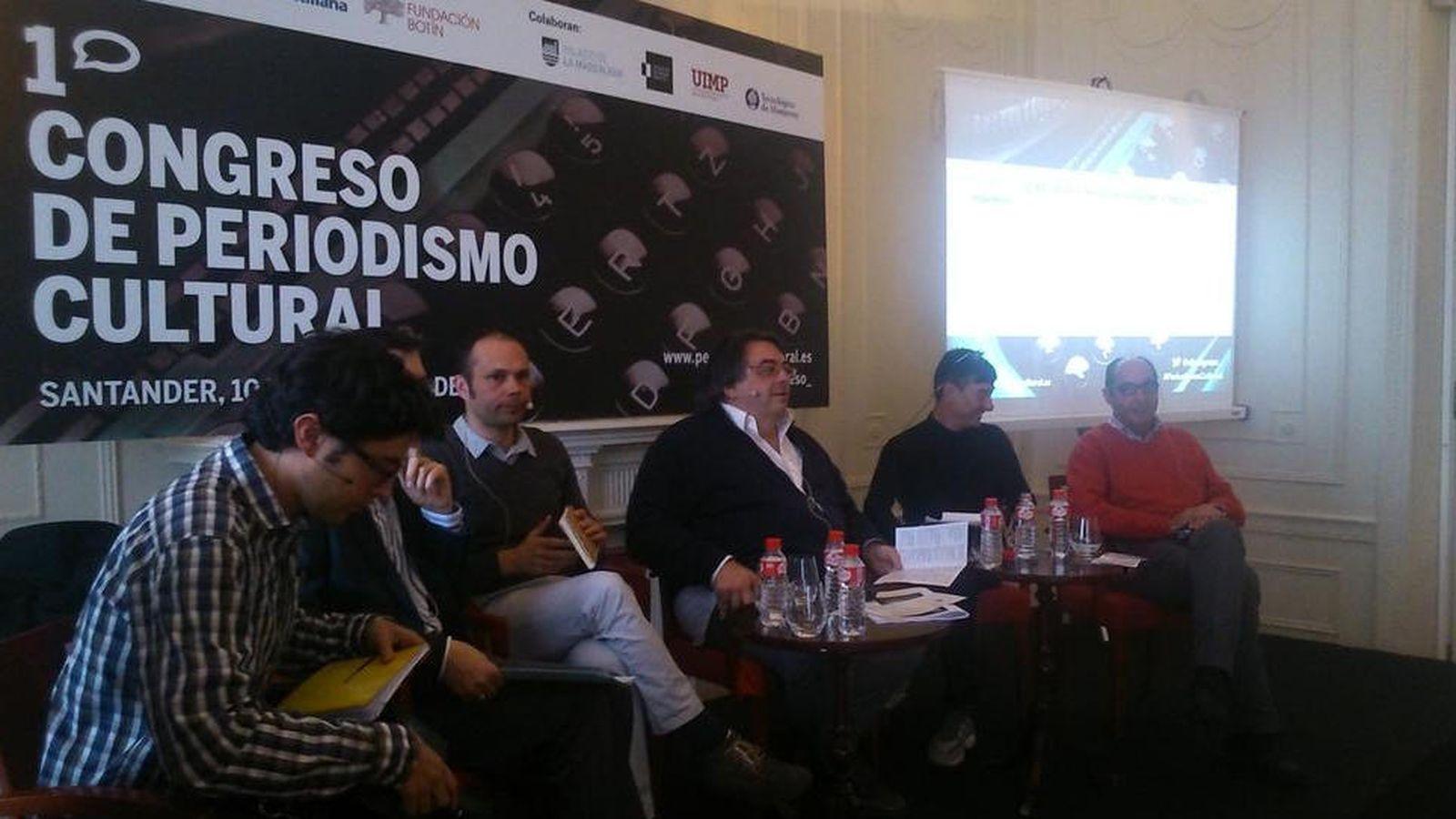 Foto: I Congreso de Periodismo Cultural