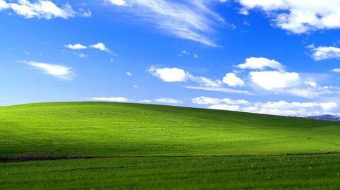 Este es el aspecto que tiene ahora la colina del fondo de pantalla de Windows