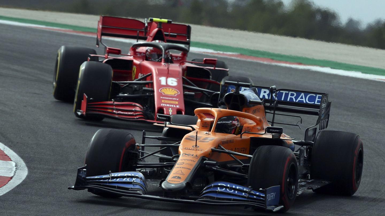 De McLaren a Ferrari, Sainz y Leclerc formarán el equipo de más baja edad media de Ferrari desde los 60