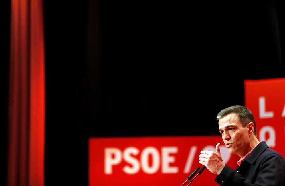 Foto: Pedro Sánchez, el pasado 18 de mayo en un mitin en Alicante. (EFE)