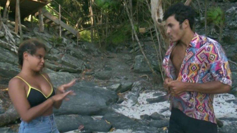 Gloria Camila durante su bronca con Kiko en 'SV'. (Mediaset España)