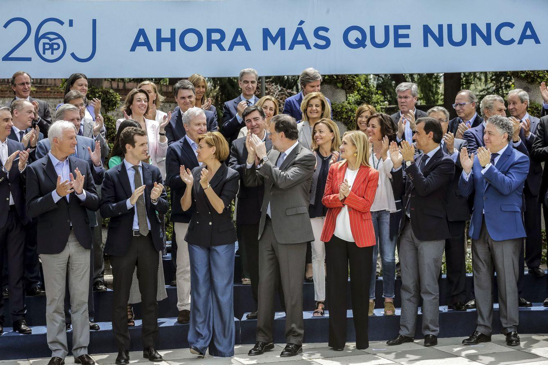 Presentación de los cabezas de lista del PP en las elecciones del 26 de junio. (EFE)