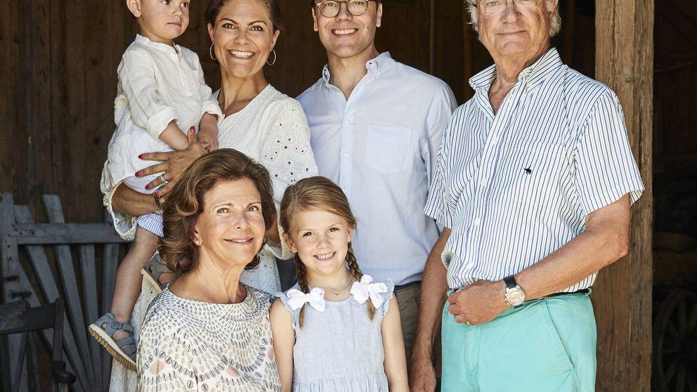La princesa Magdalena 'desaparece' de las fotos oficiales de la familia real sueca
