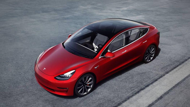 El Tesla Model 3. (Tesla)