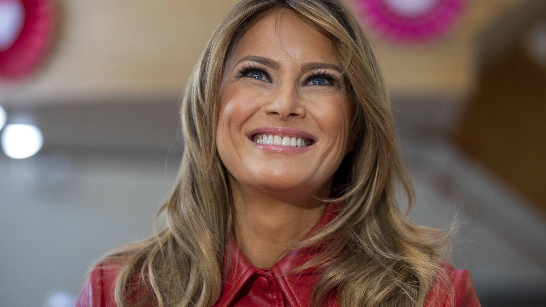 Una sonriente primera dama. (Getty)