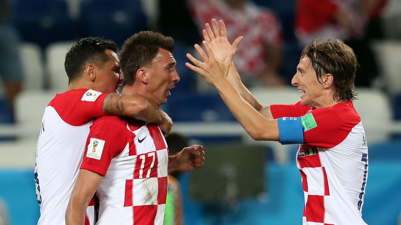 Foto: Group d croatia vs nigeria