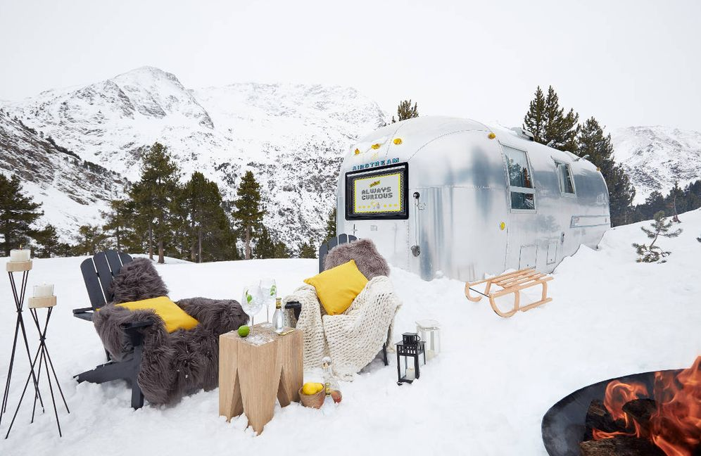 Foto: Parece de anuncio, pero es real y la experiencia te espera. ¡Dormir en una Airstream! (Cortesía)