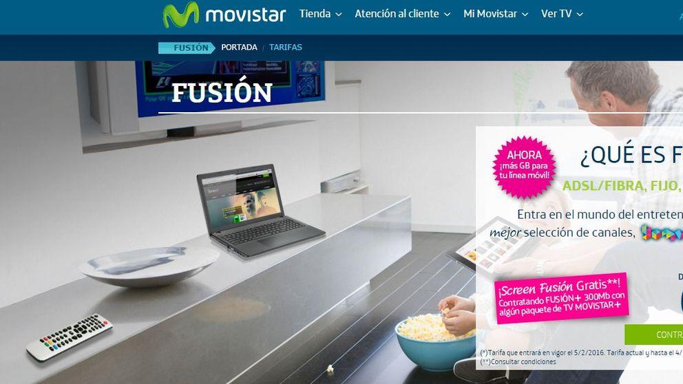 FACUA lleva a los tribunales la nueva subida de tarifas de Movistar Fusión