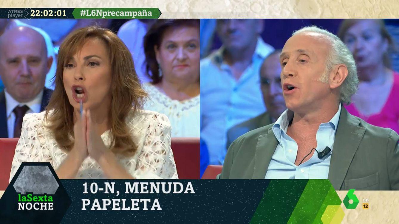 Bronca entre Eduardo Inda y Angélica Rubio por los bebés de Pablo Iglesias: Es inmoral