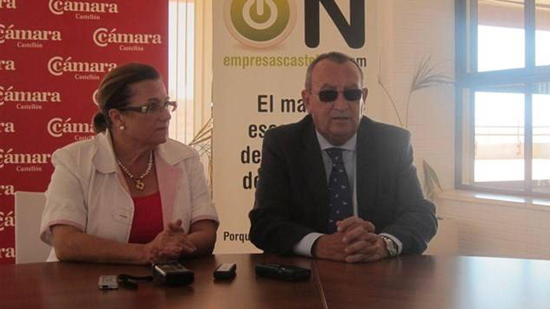 Dolores Guillamón y Carlos Fabra.