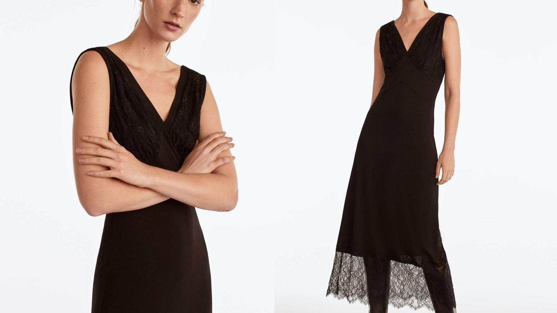 Vestido de la nueva colección de Uterqüe.  (Cortesía)