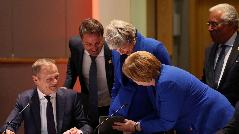 Cena de trabajo del Consejo Europeo. (Reuters)