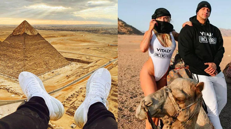 Un conocido influencer, a la cárcel por subir a la pirámide de Giza