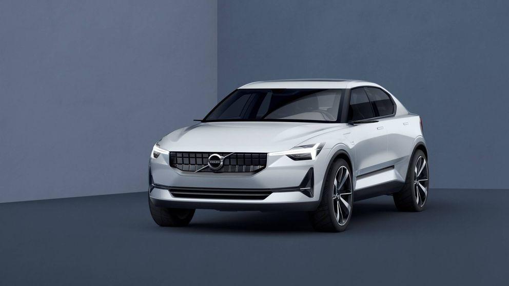 La nueva silueta del Volvo más pequeño del mercado, el V40
