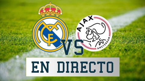 Real Madrid - Ajax, en directo: siga las mejores jugadas del partido de Champions