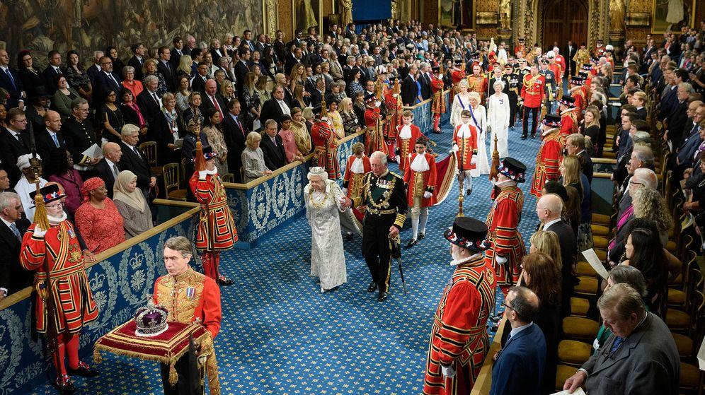 Foto: El Discurso de la Reina en el Parlamento británico. (Reuters)