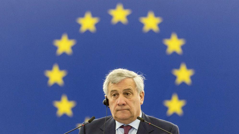 Foto: El presidente del Parlamento Europeo, Antonio Tajan. (EFE)