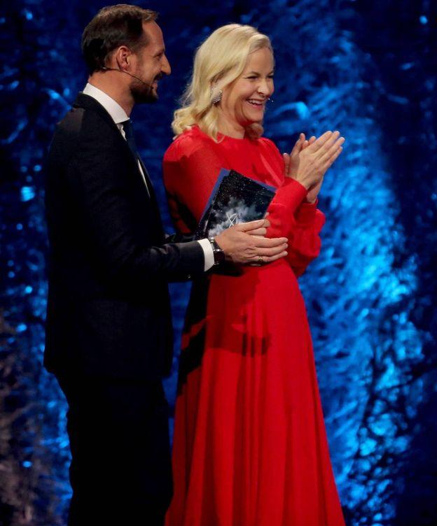 Foto: El príncipe Haakon y la princesa Mette-Marit. (CP)