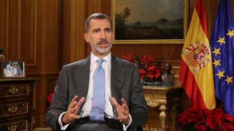 Felipe VI registra su segundo mensaje navideño más visto: 8,1 millones (65,7%)