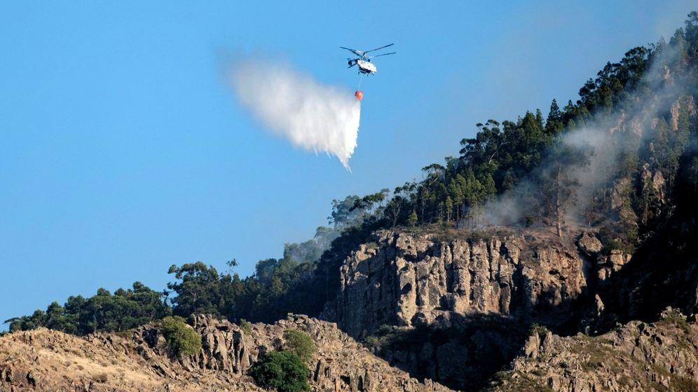 Foto: Los incendios de Gran Canaria han sido de los más importantes del año en todo el país (EFE/Ángel Medina G.)