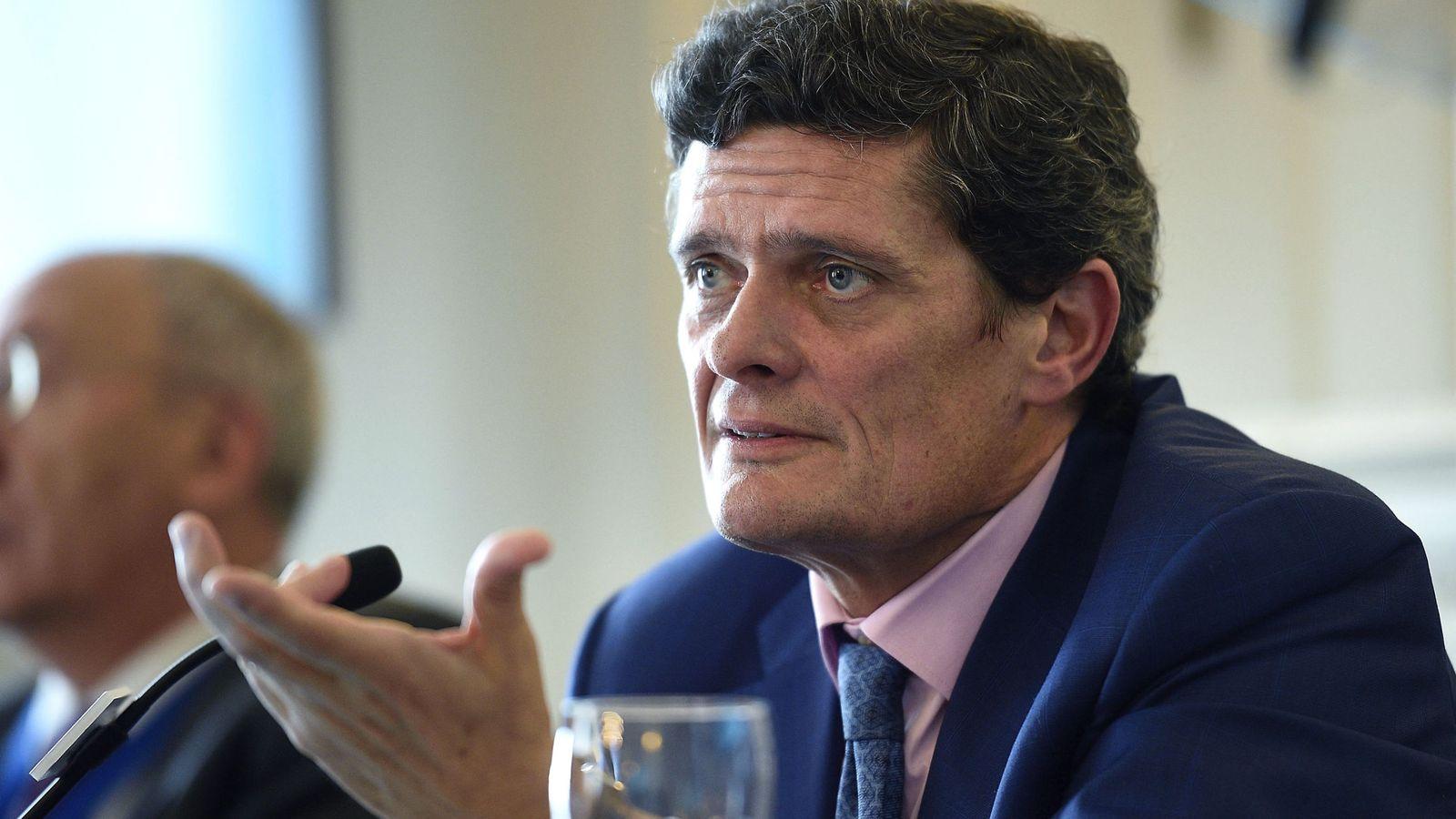 Foto: El presidente de Sareb —el banco malo español—, Jaime Echegoyen. (EFE)