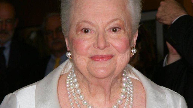 Olivia de Havilland, en una imagen reciente.