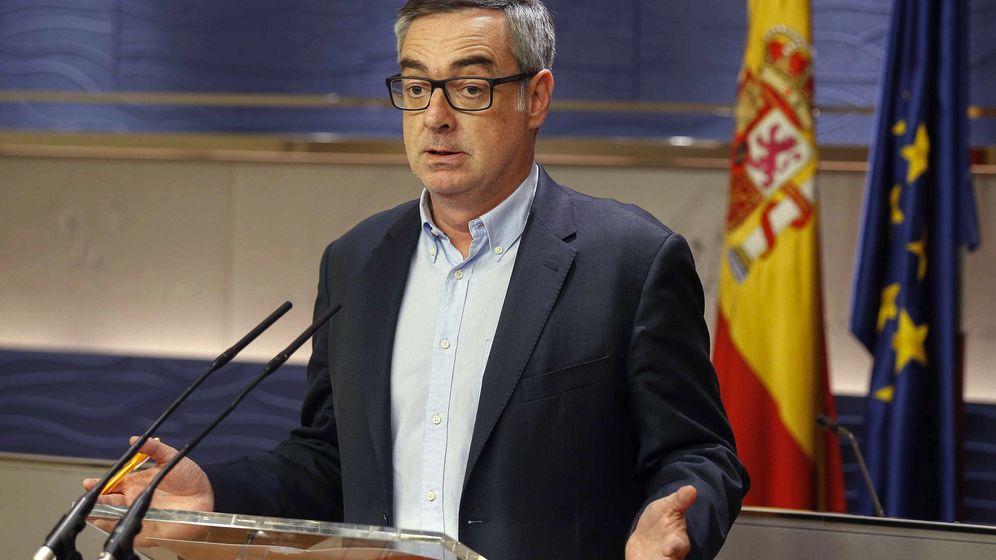 Foto: El vicesecretario general de Ciudadanos, José Manuel Villegas, durante una rueda de prensa en el Congreso. (EFE)
