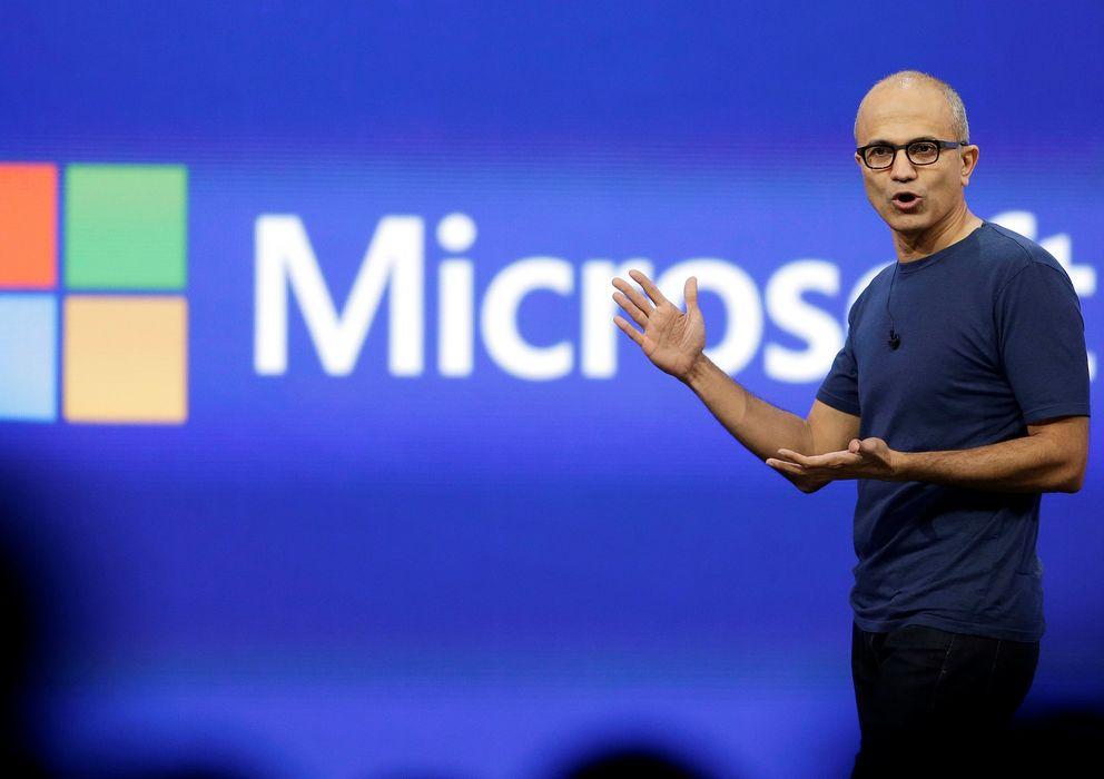 Foto: El CEO de Microsoft, Satya Nadella (Fotografía: Reuters).