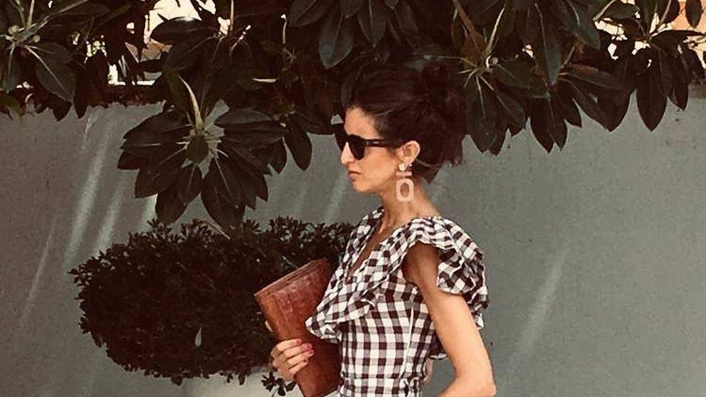 Inés Domecq reinventa el look de flamenca en la Feria de Jerez (y tú lo llevarás al trabajo)