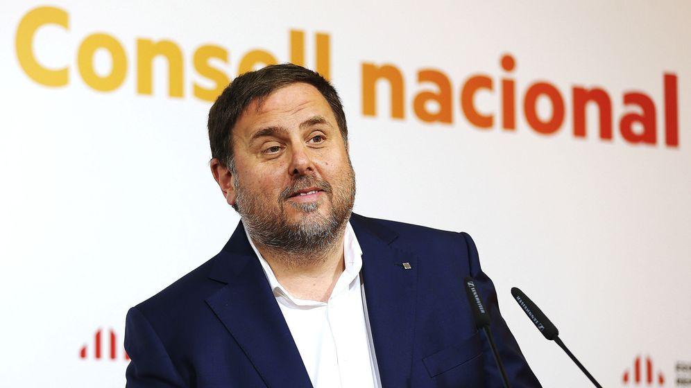 Foto: El vicepresidente del Govern, Oriol Junqueras. (EFE)
