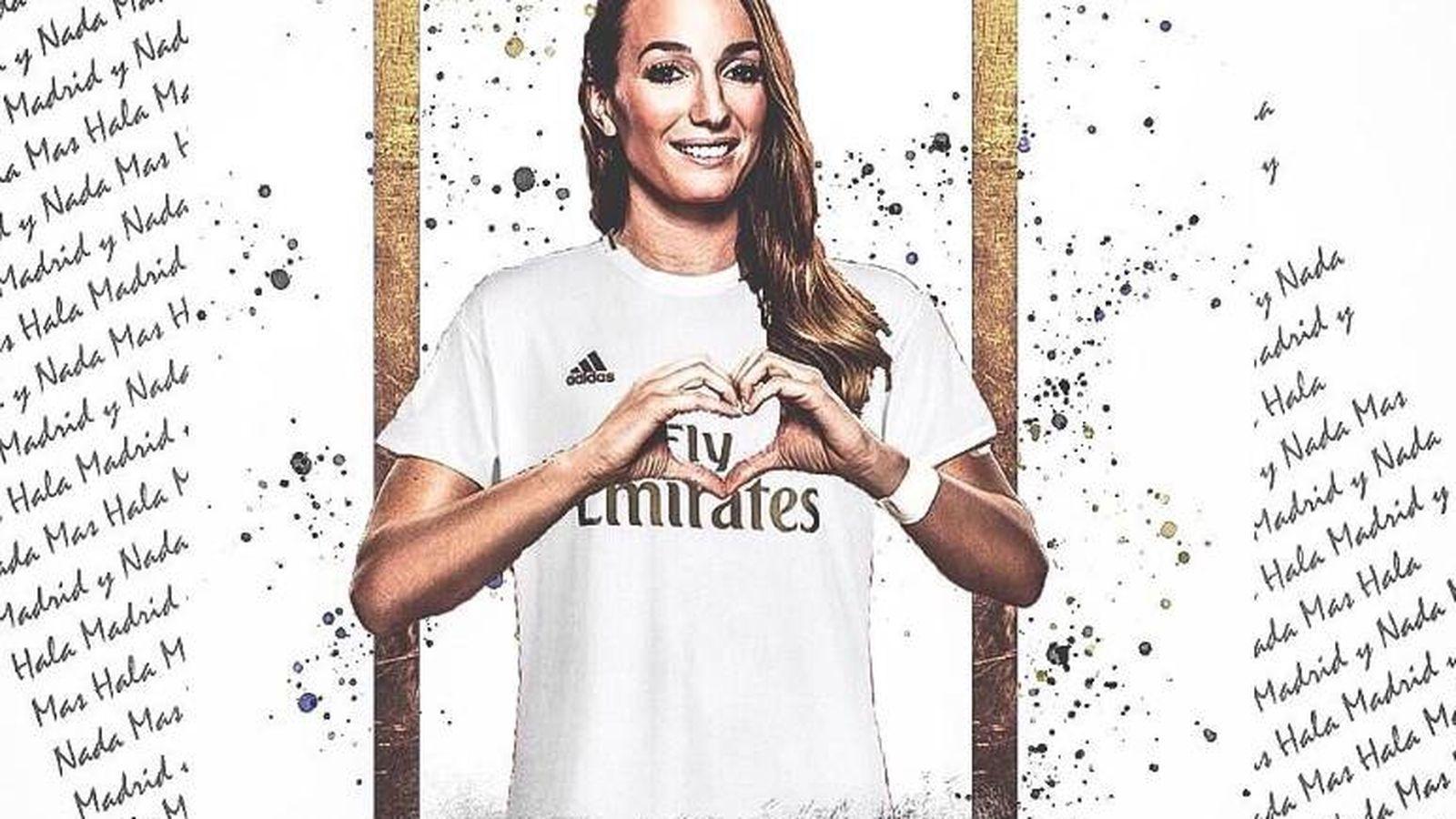 Foto: Kosovare Asllani, nueva jugadora del CD Tacón (ahora, Real Madrid femenino). @KosovareAsllani