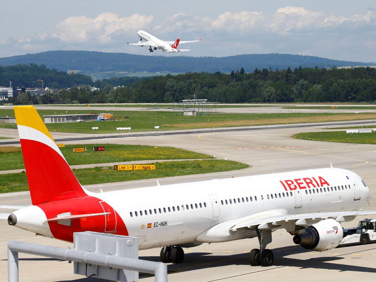 Foto: Iberia es una de las marcas de IAG. (Reuters)
