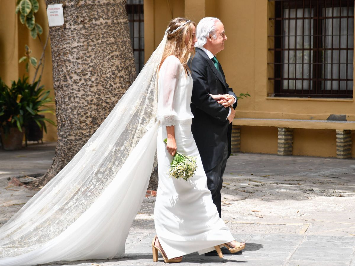 Foto: El vestido de novia de Ymelda Bilbao. (Gtresonline)