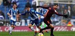 Post de Piqué sigue en el alambre: llega tocado a Valencia, pero está dispuesto a jugar