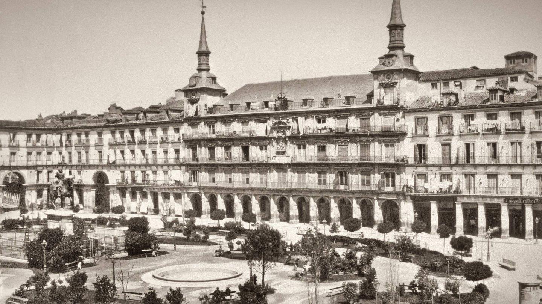 Plaza Mayor. Jean Laurent. 1867