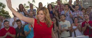 Foto: Susana Díaz gana 'a la búlgara' unas primarias marcadas por la falta de transparencia