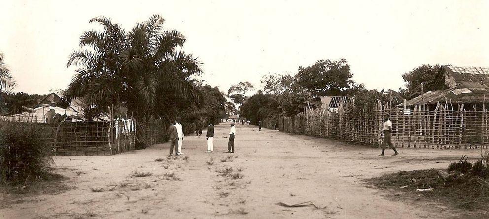 Foto: La ciudad de Kinsasa en los años 20. (kosubaawate.blogspot.com.es)