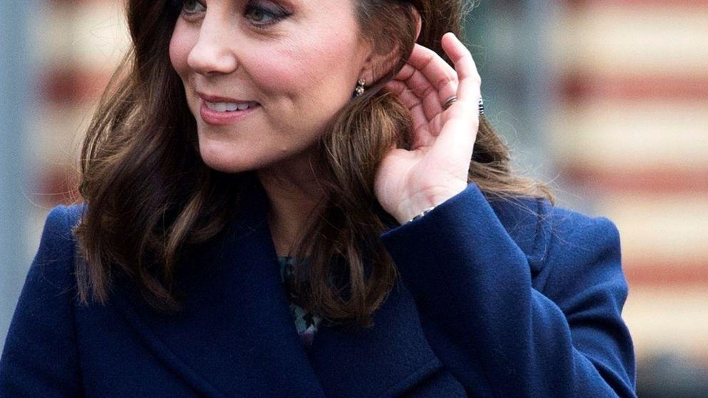 Kate confía en su firma premamá favorita en su último acto