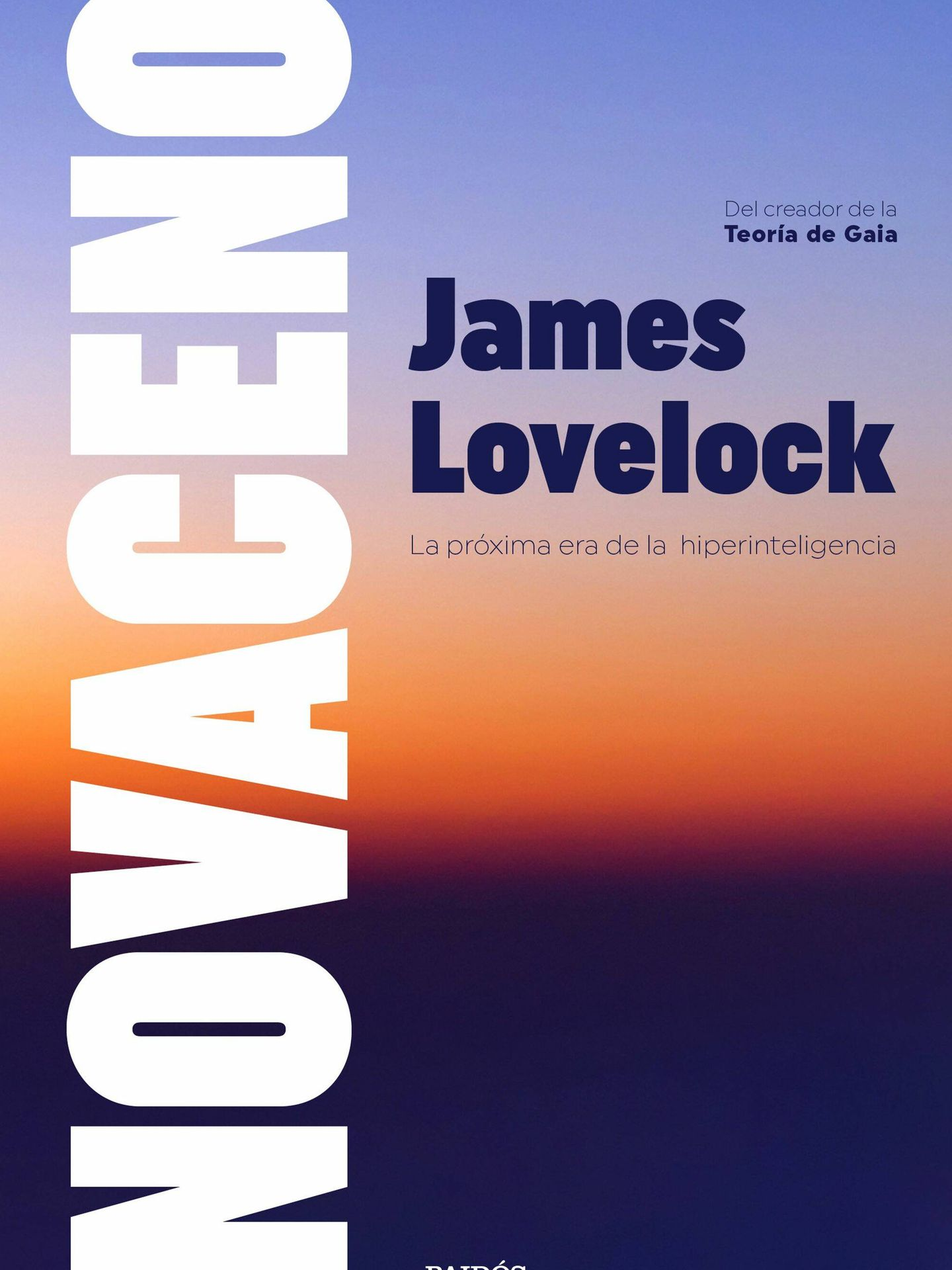 Lovelock asegura que humanos y cíborgs conviviremos en paz. (Paidós)