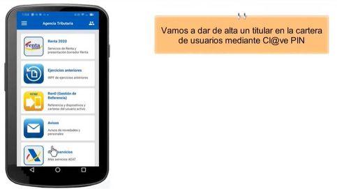 ¿Quieres hacer la declaración de la renta vía 'app'? Cómo obtener las claves de usuario