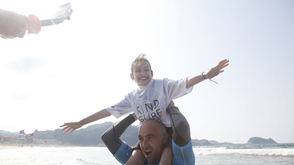 Foto: Kind Surf, felicidad sobre las olas