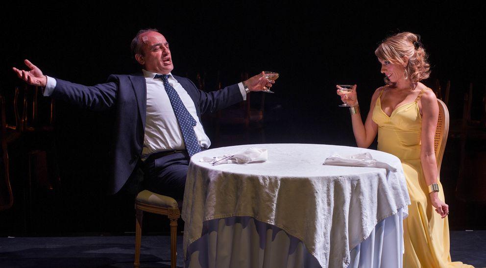 Foto: 'El president', de Thomas Bernhand y dirigida por Carme Portaceli, en el TNC (Joan Tomàs/TNC)