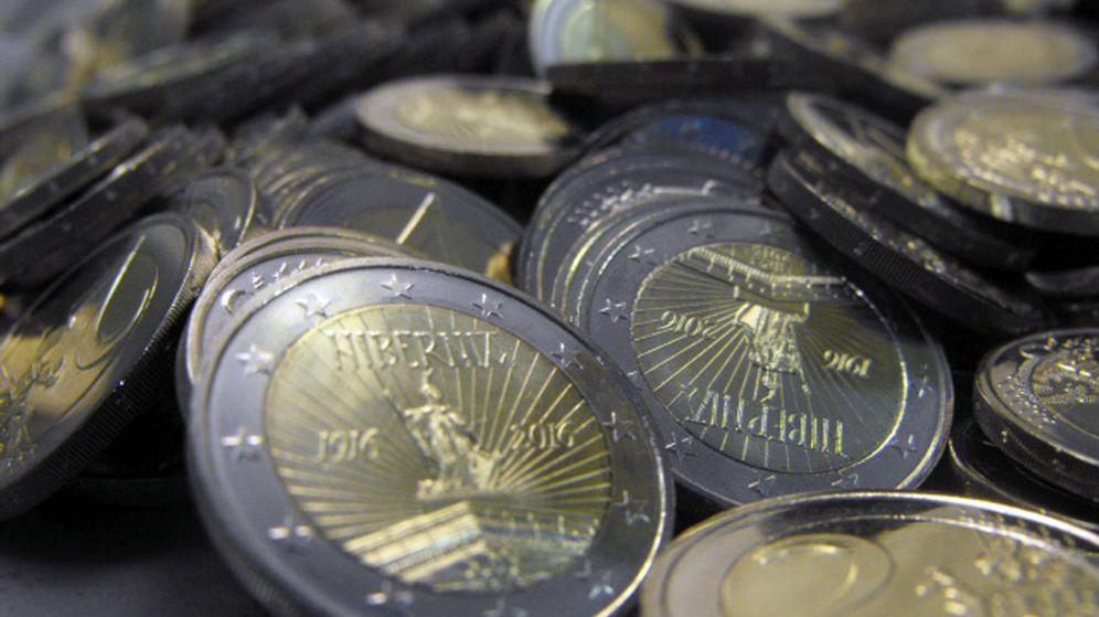 Foto: Monedas de dos euros. (EFE)