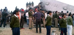 Post de Al menos 95 muertos al descarrilar varios vagones de un tren en la India