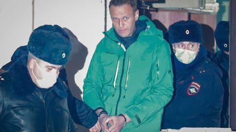 El opositor ruso Navalni, recluido en solitario en una celda de cuarentena en Moscú