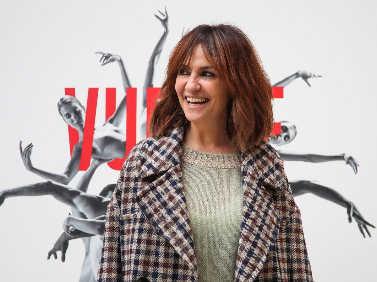 Foto: La actriz Melani Olivares, durante la presentación de un evento. (EFE)