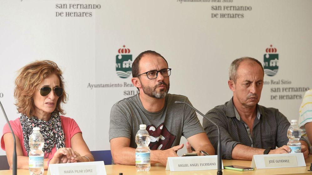 Foto: Miguel Ángel Escribano, pareja de la mujer asesinada. (EFE)